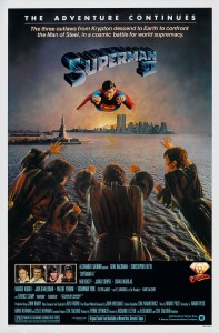 Superman II one-sheet movie poster.
