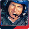 Christopher Reeve flies with the Blue Angels.
