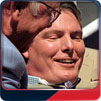 Christopher Reeve at his star ceremony on the Hollywood Walk of Fame, April 15, 1997.