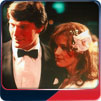 Christopher Reeve and Margot Kidder at the premiere of Superman-The Movie.