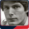 Christopher Reeve portrait.
