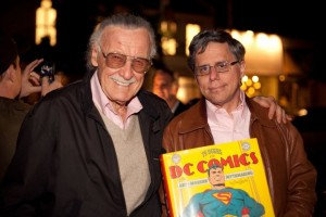 Stan Lee and Paul Levitz. Photo by Amy Kaplan Photography.