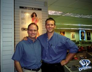 Jim Bowers and Superman Scott Cranford.