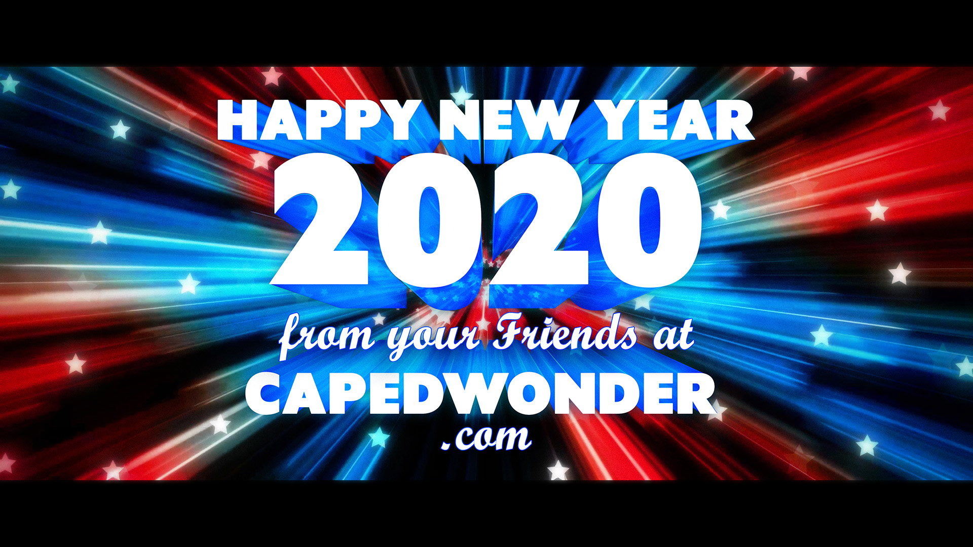 Happy New Year 2020 from CapedWonder.com!