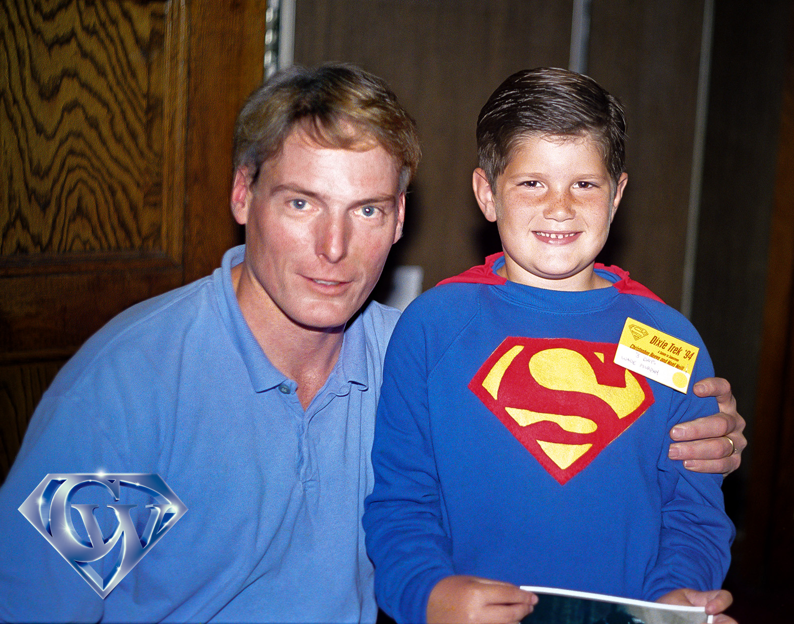 Christopher Reeve and Wade Murphy on May 14, 1994