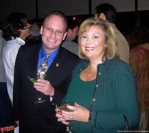 Jim Bowers and Sallie Haws.
