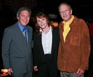 Margot Kidder and Tom Mankiewicz.