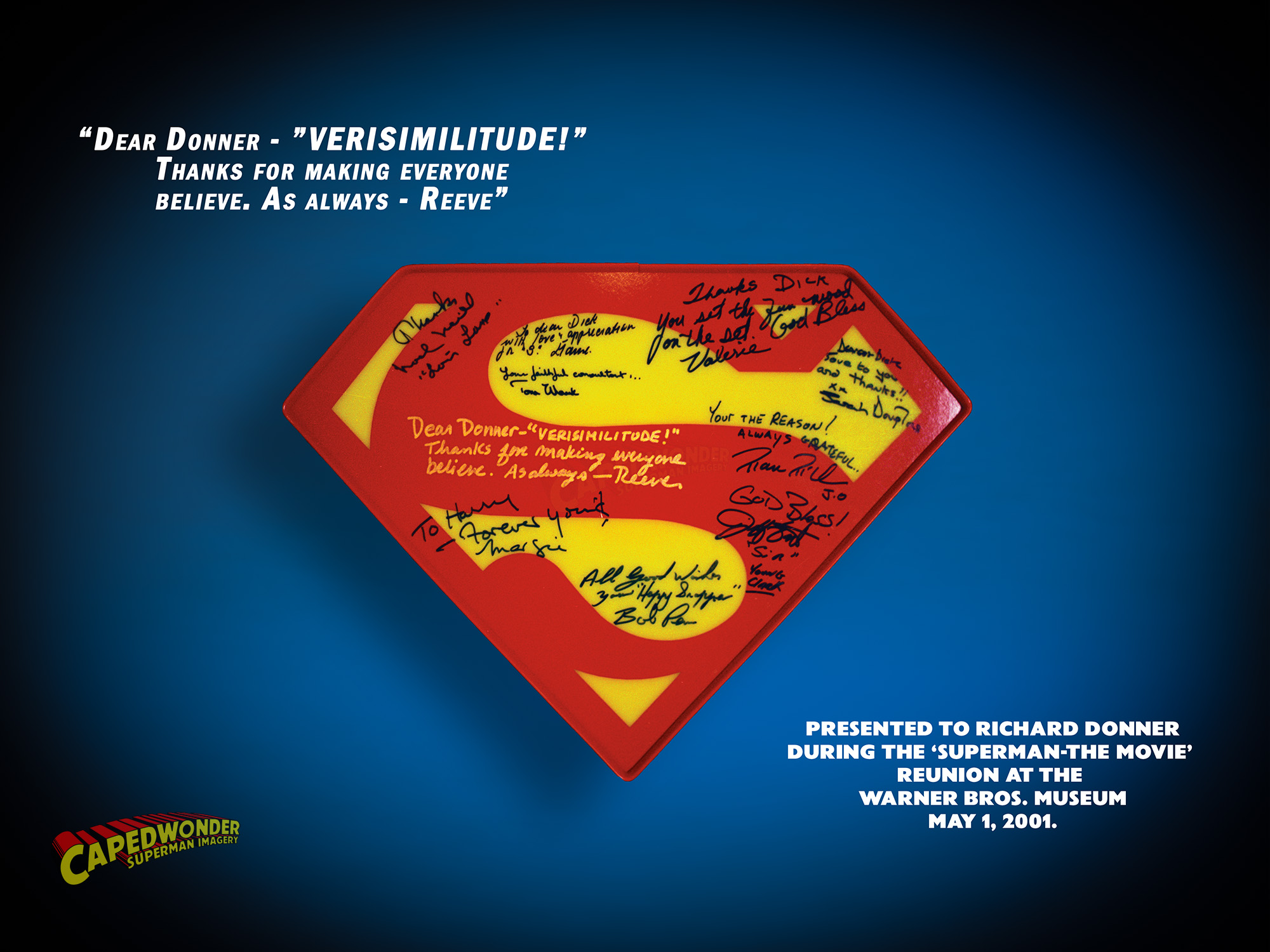 CW-Donner-shield-autographed-Reeve-quote