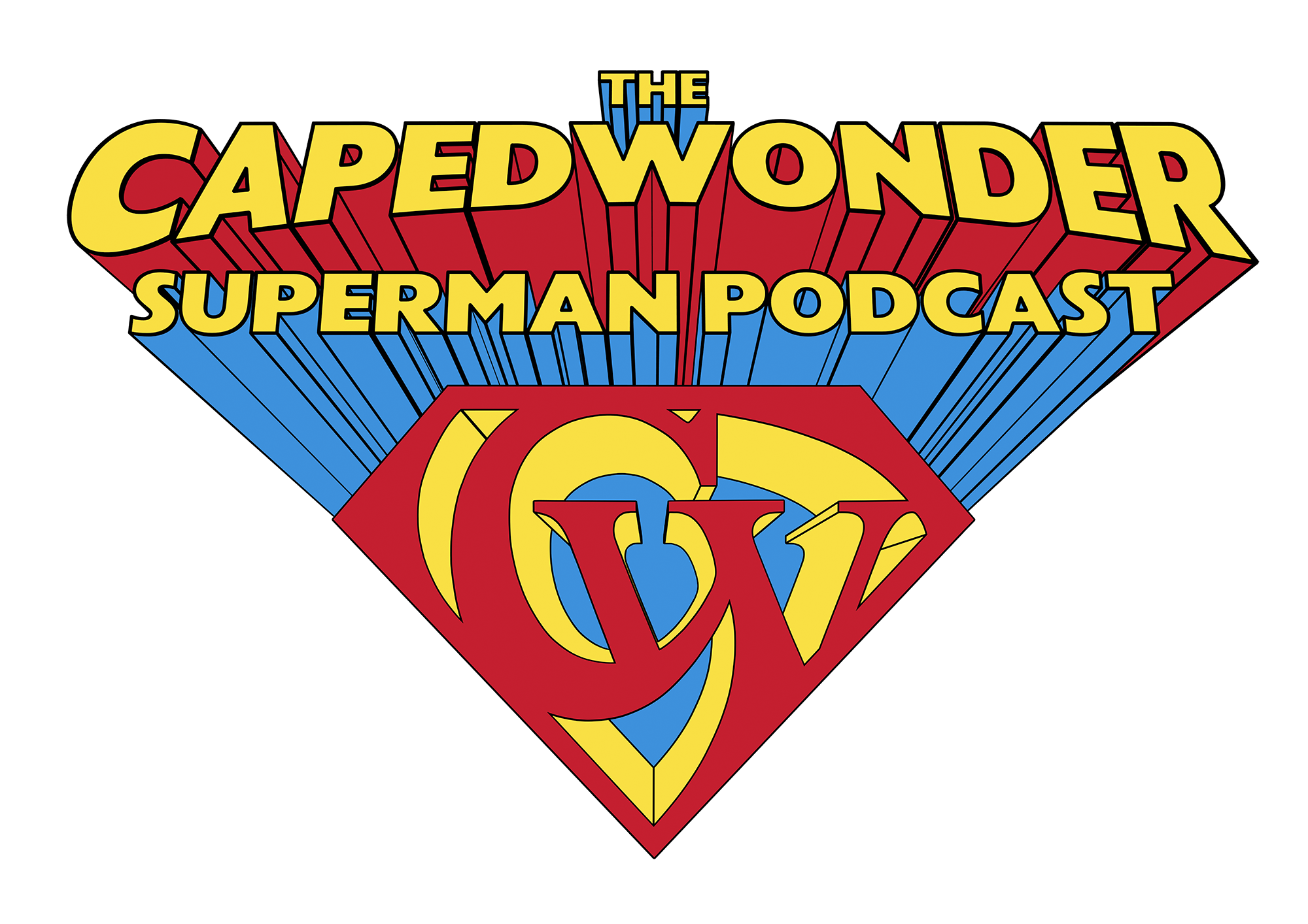 CW PODCAST SHIELD 3D TRANSPARENT