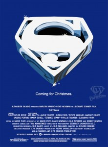 CW-Reeve-Memorial-week-SUPERMAN-LOGO-BLUE-poster