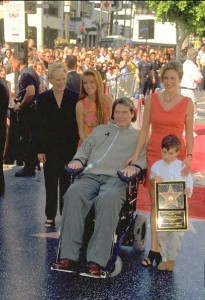 CHRISTOPHER REEVE HONOURED BY THE 'WALK OF FAME'