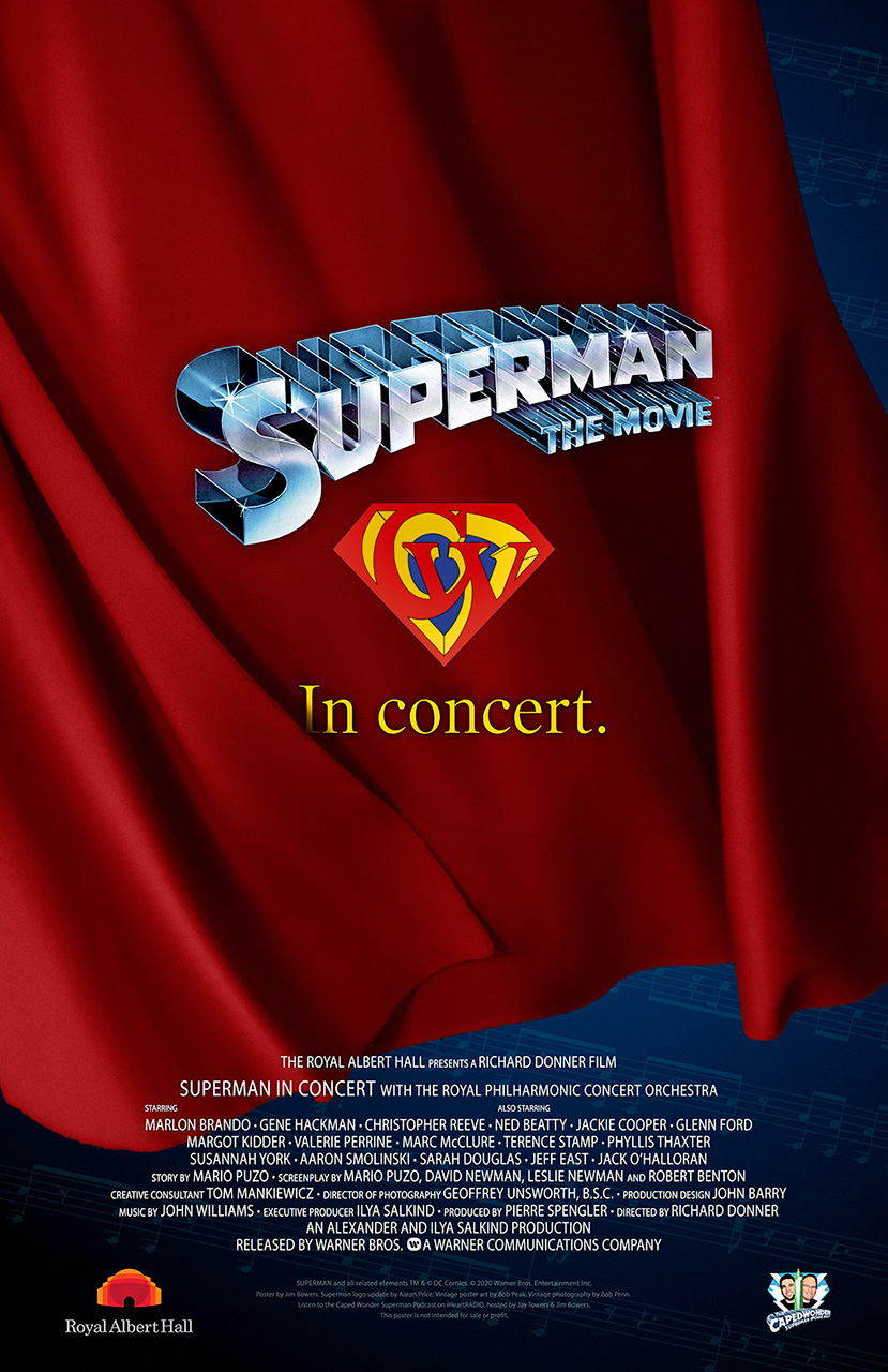 CapedWonder Superman In Concert Gathering