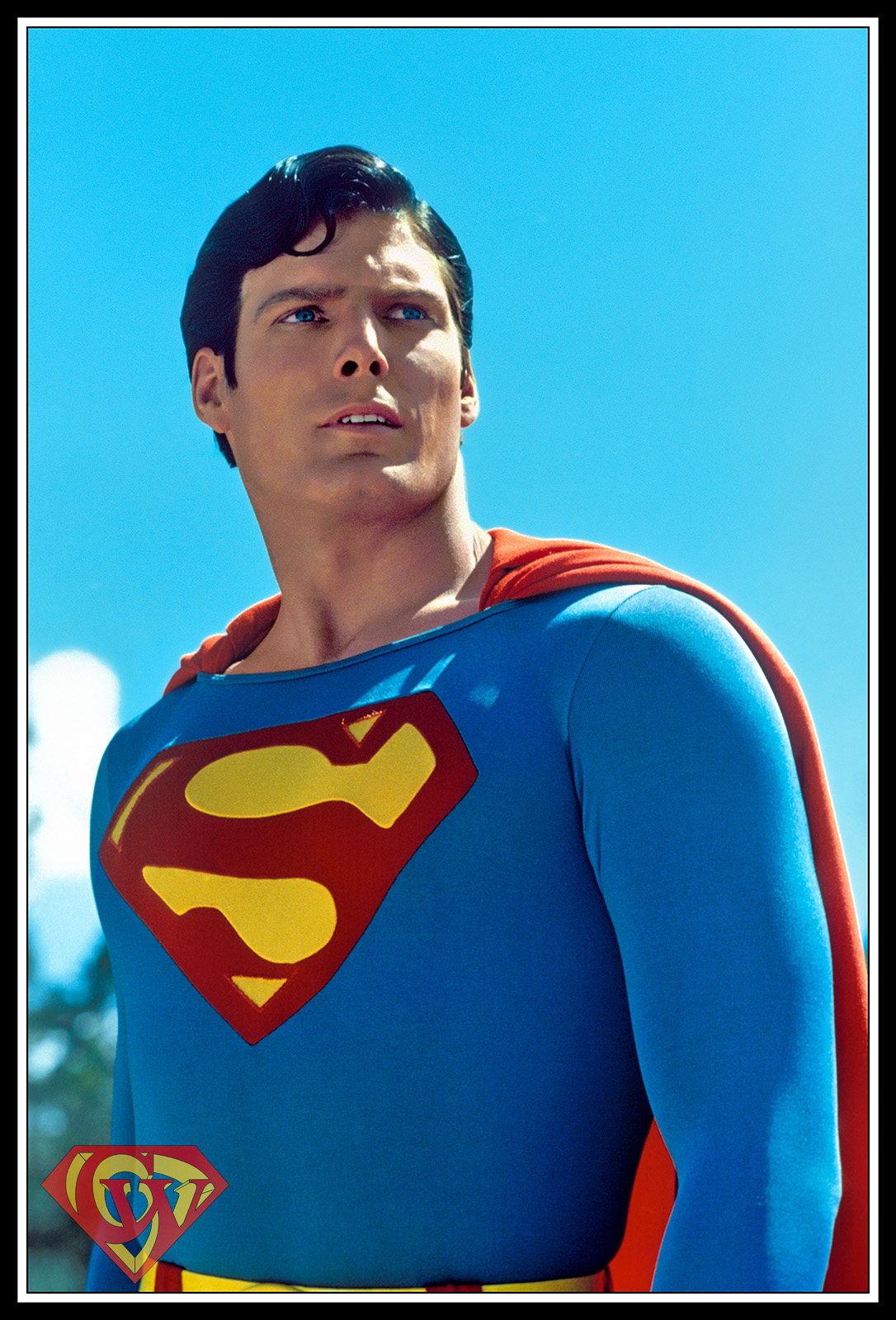 Christopher Reeve photographed by Curt Gunther in Gallup, New Mexico, June 1978.