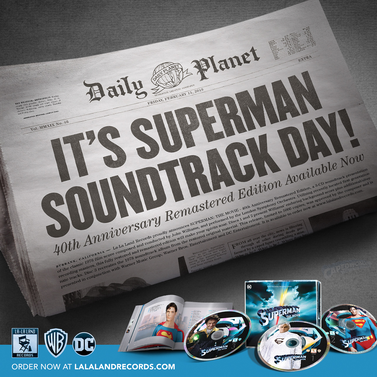 CW-Superman-The-Movie-Soundtrack-2019-DP-La-La-Land-Records