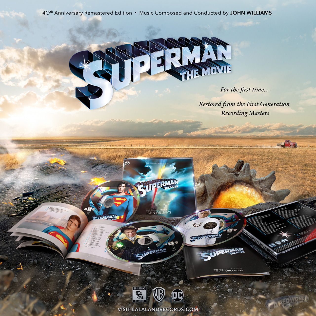 CW-Superman-The-Movie-Soundtrack-2019-La-La-Land-Records