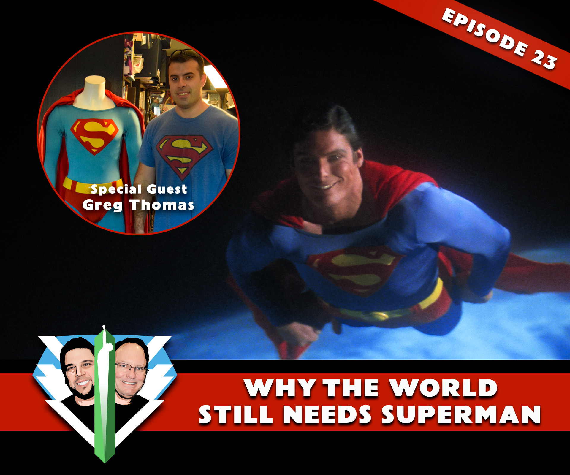 Caped Wonder Superman Podcast Episode 23!