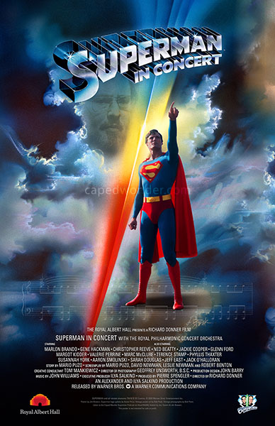 Superman In Concert 2020 CapedWonder Poster