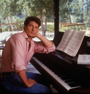Christopher Reeve at Piano