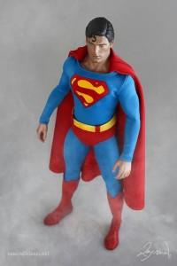 Featuring a custom-made costume.