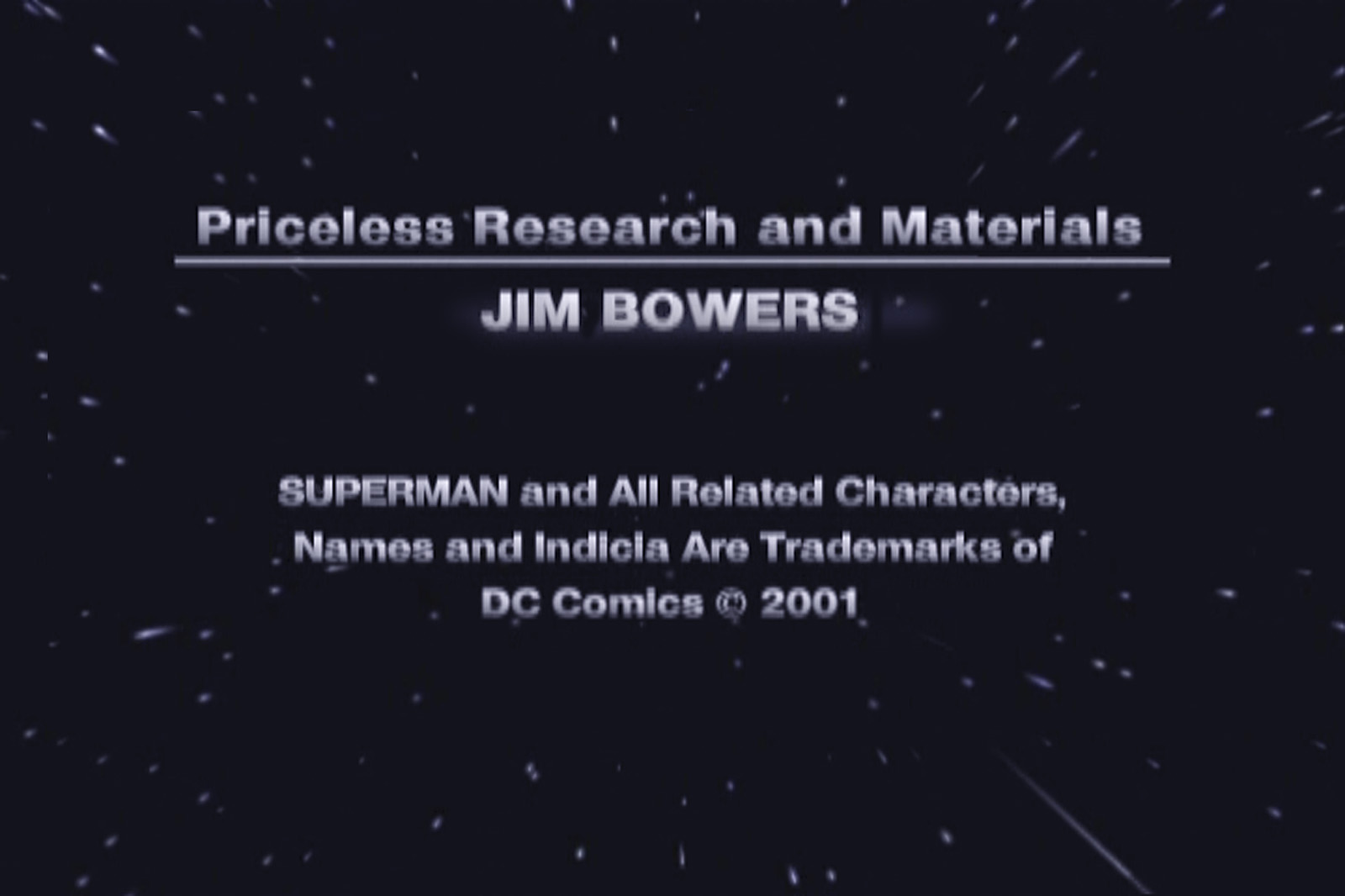 JIM BOWERS STM DVD CREDIT