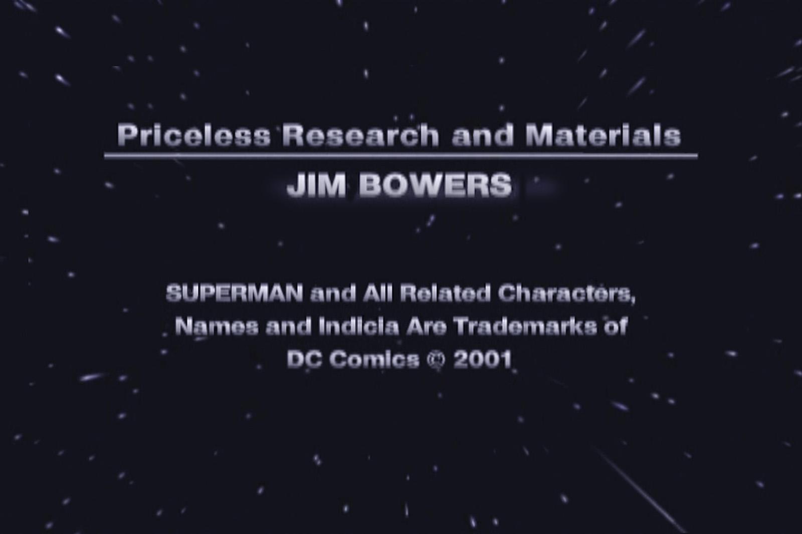 JIM BOWERS STM DVD CREDIT