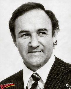 Actor Gene Hackman as Lex Luthor, 1977
