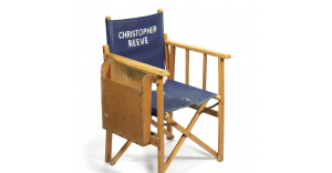 Christopher Reeve's original Superman director's chair.