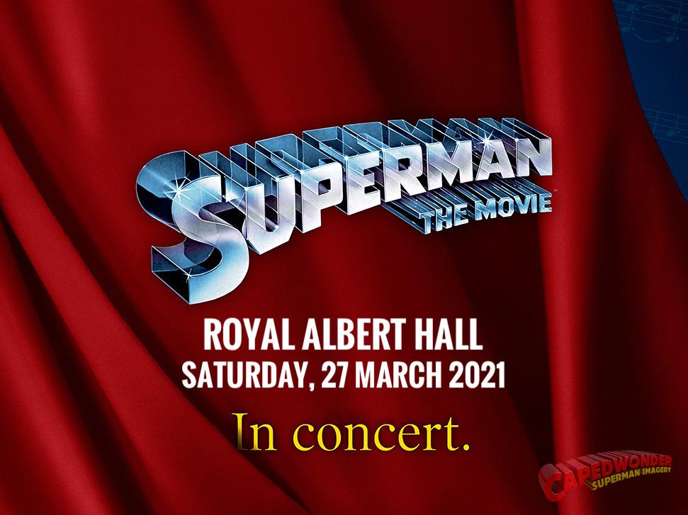 Superman In Concert - Royal Albert Hall